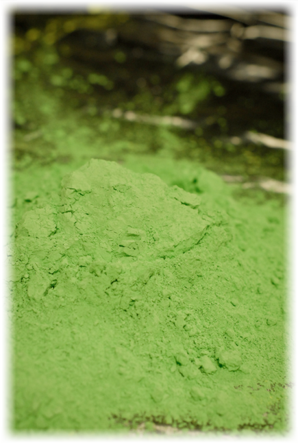 Green Detection Powder